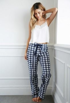 Women's pyjamas style to help you look sharp 053 fashion