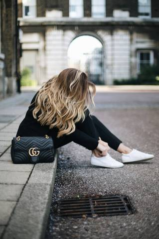 Women's white sneakers outfit 41