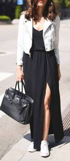Women's white sneakers outfit 74
