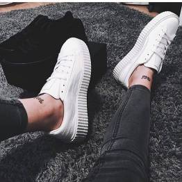 Women's white sneakers outfit 75