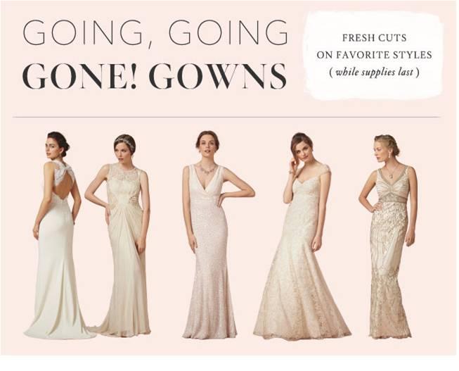 Sale At BHLDN On Wedding Dresses, Bridesmaid Dresses, And
