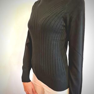 Ежедневна блуза в черно