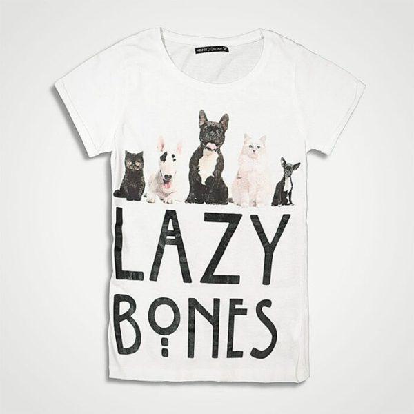 Дамска тениска Lazy Bones- дамски дрехи