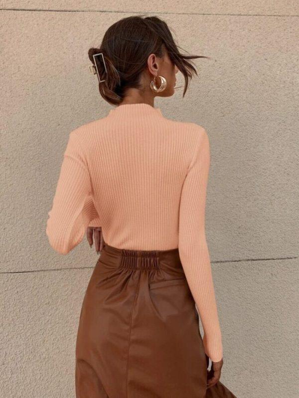 Модерна блуза в розово