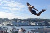 Salto dende o Paredón 15