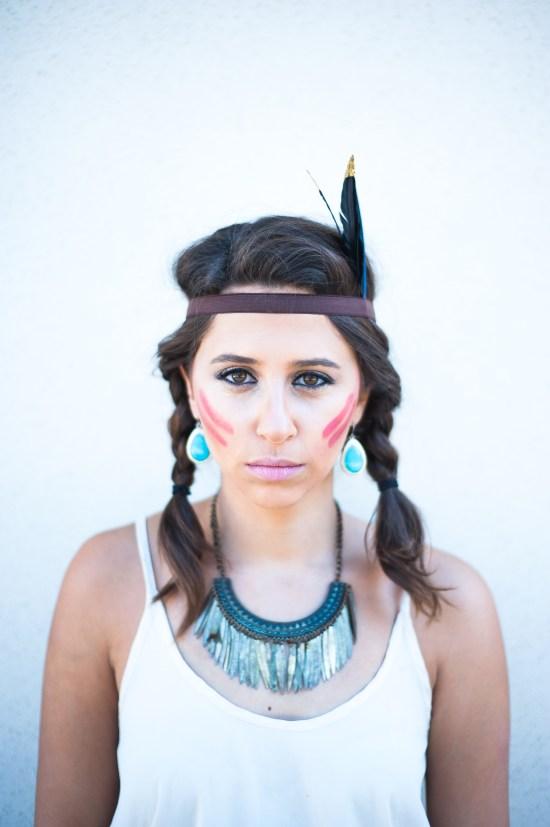 Pocahontas, Halloween, diy, costume, dressupbuttercup