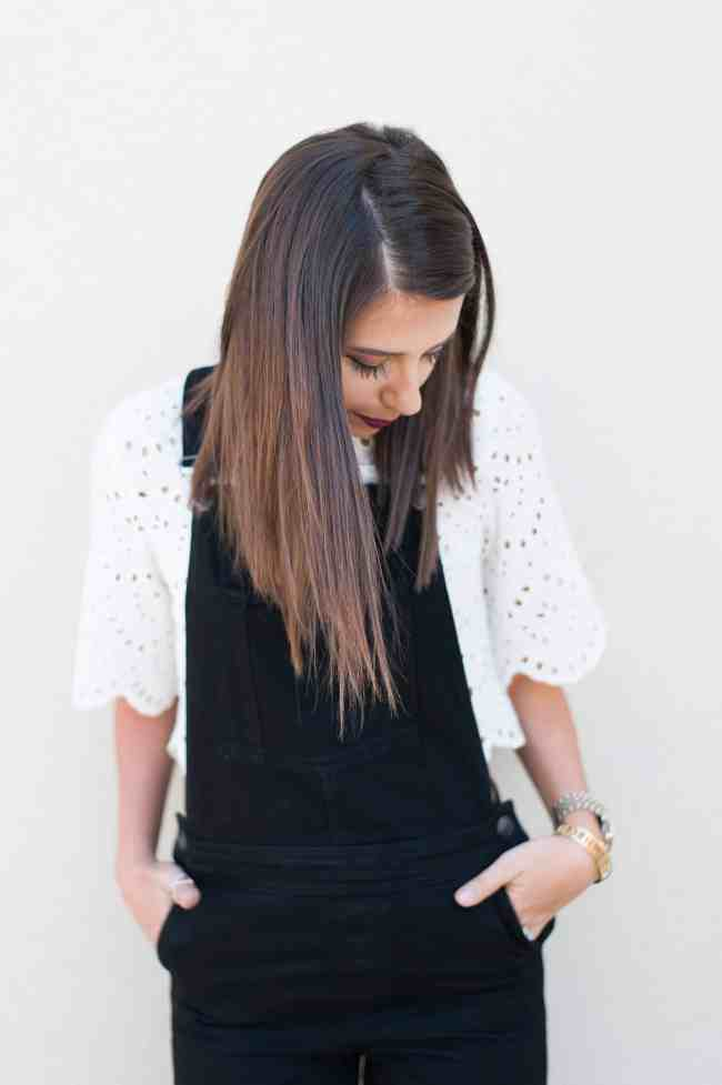 Dress Up Buttercup // A Houston-based fashion and inspiration blog developed to daily inspire your own personal style by Dede Raad   Black Denim Overalls