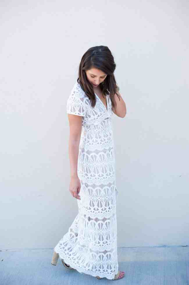 Dress Up Buttercup // A Houston-based fashion and inspiration blog developed to daily inspire your own personal style by Dede Raad | Lace Maxi