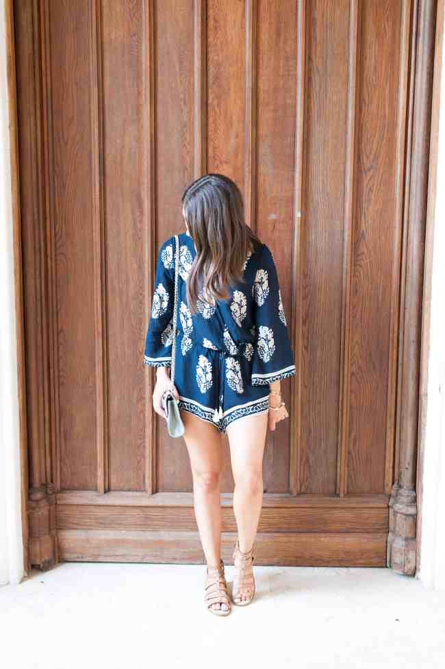 Dress Up Buttercup // A Houston-based fashion and inspiration blog developed to daily inspire your own personal style by Dede Raad | Playsuit Romper