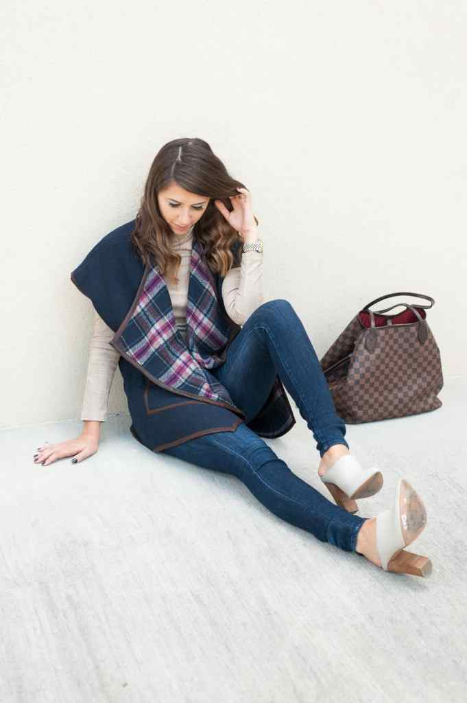 Dress Up Buttercup // A Houston-based fashion and inspiration blog developed to daily inspire your own personal style by Dede Raad | Blanket Vest