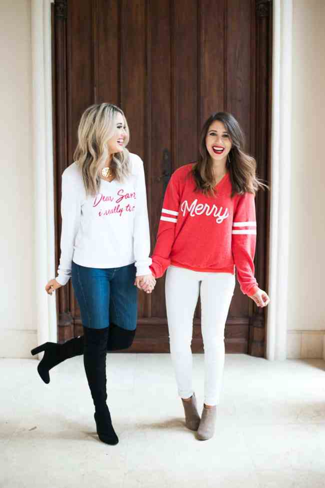 Dress Up Buttercup // A Houston-based fashion travel blog developed to daily inspire your own personal style by Dede Raad | Christmas Sweaters