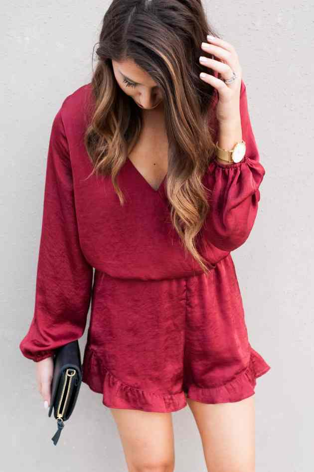 Dress Up Buttercup // A Houston-based fashion travel blog developed to daily inspire your own personal style by Dede Raad   Vday Romper