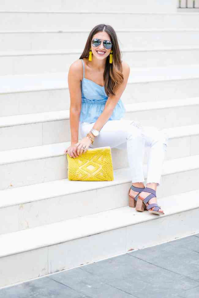 Dress Up Buttercup // A Houston-based fashion and inspiration blog developed to daily inspire your own personal style by Dede Raad | Blue and Yello