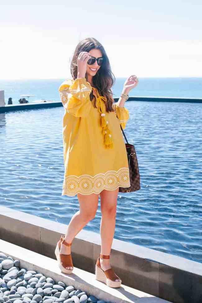 Dress Up Buttercup // A Houston-based fashion and inspiration blog developed to daily inspire your own personal style by Dede Raad | Marigold Cabo Dress