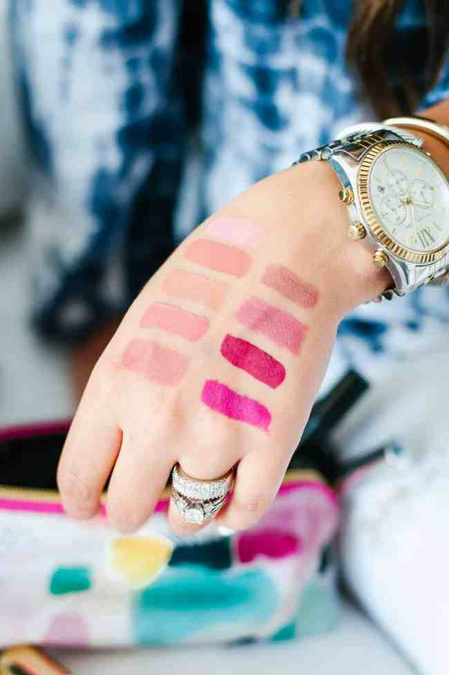 Dress Up Buttercup Houston Beauty Blogger Lipstick Must Haves