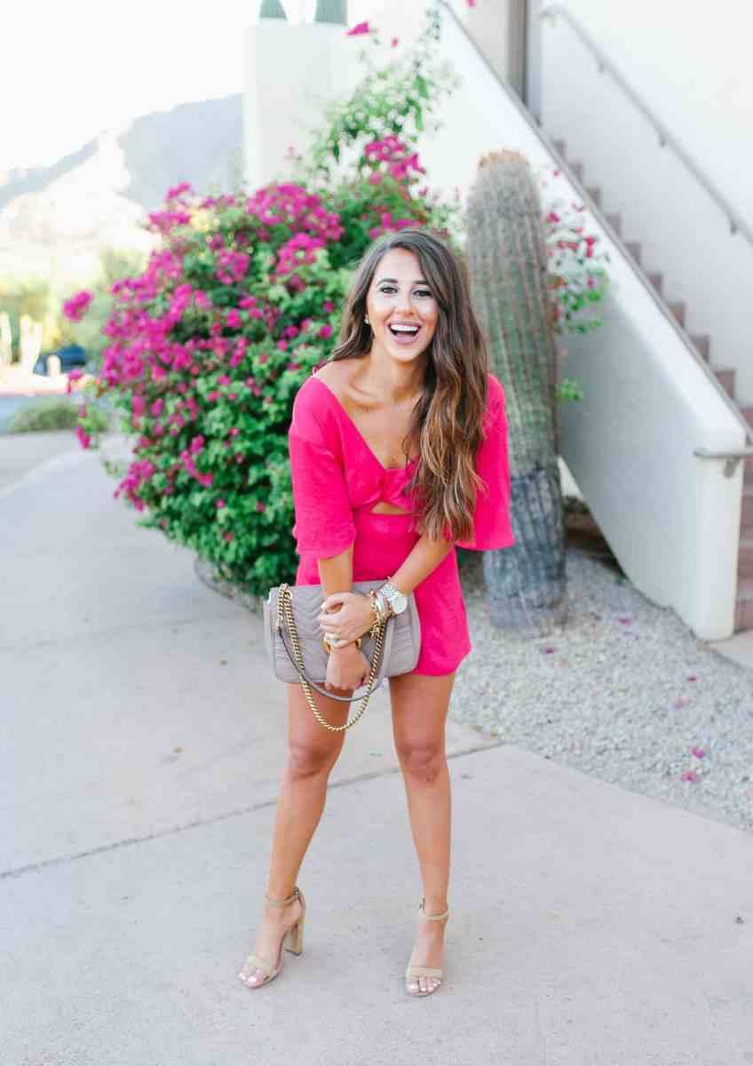 Pink Romper Scottsdale AZ