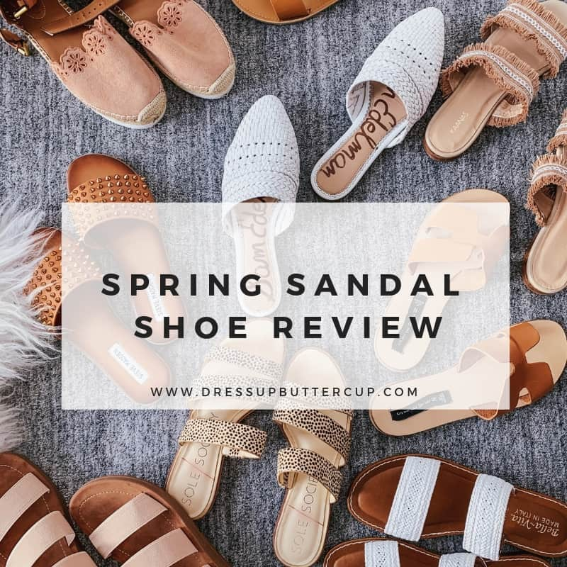 Spring Sandal Shoe Review