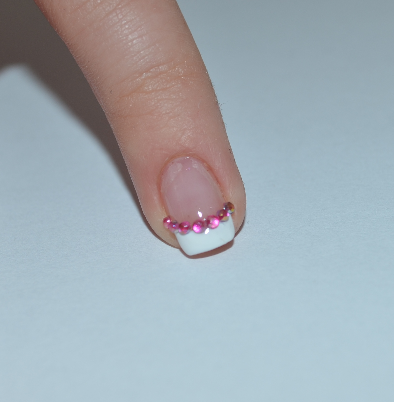 French Z Cyrkoniami Dress Up Your Nails