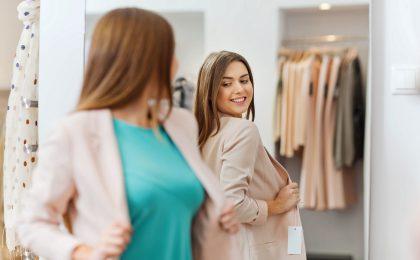 Neue Outfits auszuprobieren macht Spaß - sie kommen allerdings nur zur Geltung, wenn man dabei auch frisch und gepflegt aussieht.
