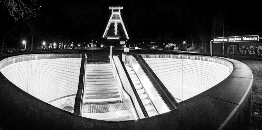 Bochum at night
