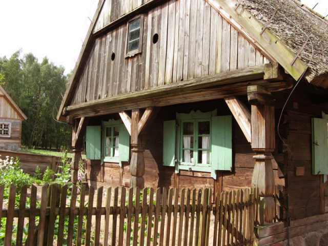 пример деревянной архитектуры