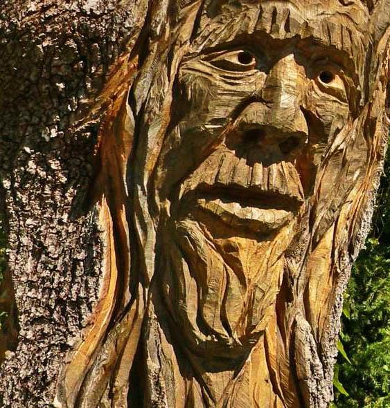 резьба на дереве