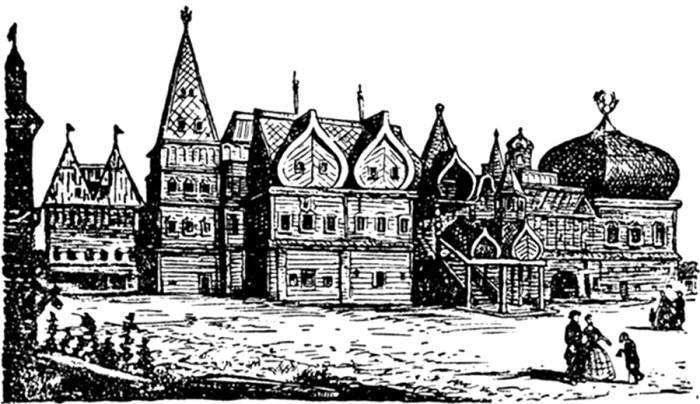 деревянные дворцы
