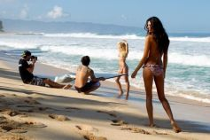 Behind The Scenes of Surfing Magazine's Swimsuit Calendar Shoot 024