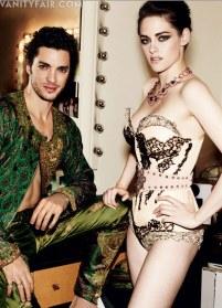 Kristen Stewart in Paris Couture Vanity Fair Photoshoot 001