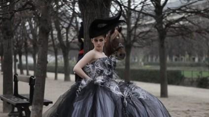 Kristen Stewart in Paris Couture Vanity Fair Photoshoot 003