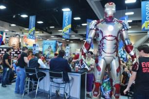 First Look at Iron Man 3 Armour Comic Con 2012 Photos 09
