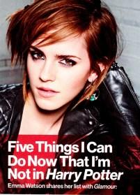 Emma Watson Glamour Magazine October 2012 [Photos] - 003