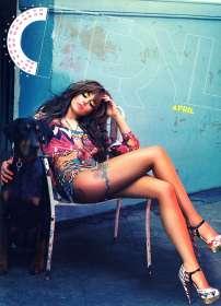 Cheryl Cole's 2013 Calendar Revealed [Photos] 004