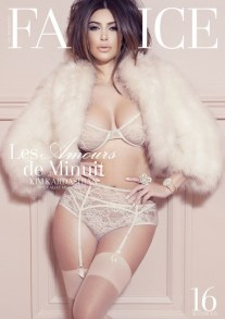 Kim Kardashian for Factice France January 2013 [Photos] 008