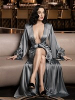 Dita Von Teese by Albert Sanchez for ELLE Men China [Photos] 001