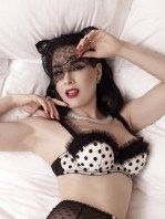 Dita Von Teese by Albert Sanchez for ELLE Men China [Photos] 004
