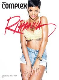 Rihanna's Seven Covers for Complex Magazine [Photos] 001