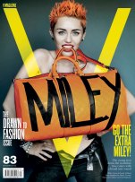 Miley Cyrus By Martio Testino for V Magazine 2013 [Photos:Video] 07
