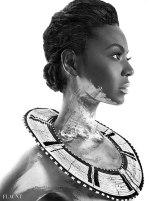 Beyonce Sparkles naked for Flaunt Magazine - 07