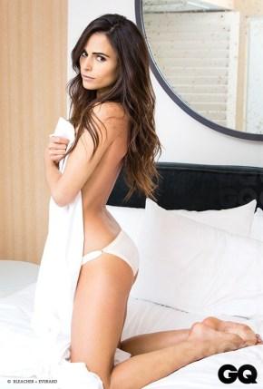 Sexy Jordana Brewster GQ Mexico Magazine July 2013 02