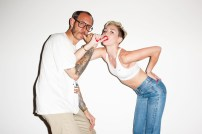 Miley Cyrus gets provocative for Terry Richardson 03