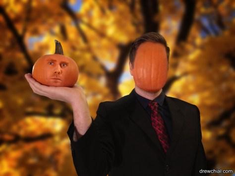 Face on a Pumpkin Gallery Version