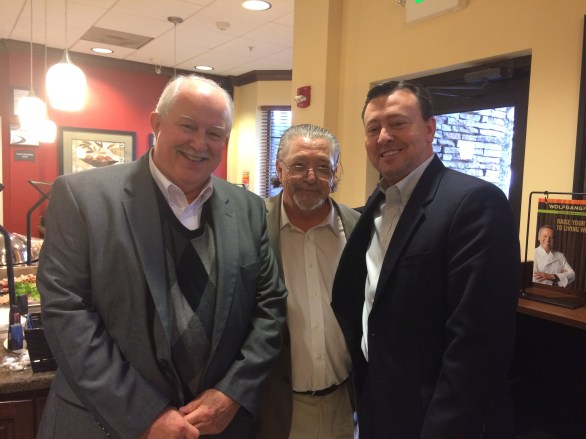 With Terry Hardesty of Berkeley and Moye Graham of Clarendon