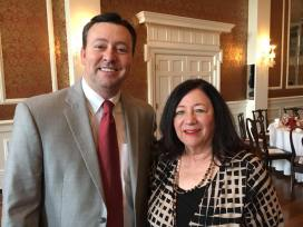 With Marlene Dowd at the Greenville Republican Women