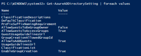 Managing Office 365 Groups Using Azure AD Powershell V2