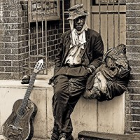 Bluesman On the Corner