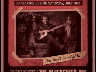 Drew Nelson at The Black Sheep Inn in Wakefield.