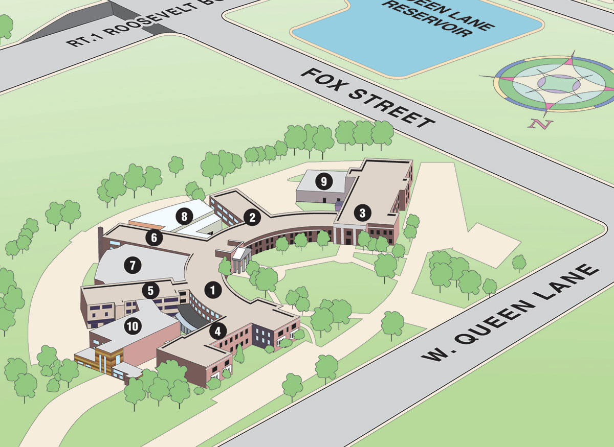 St Norbert College Campus Map.Unt Campus Map Light Rail Seattle Map Lake George Island Map