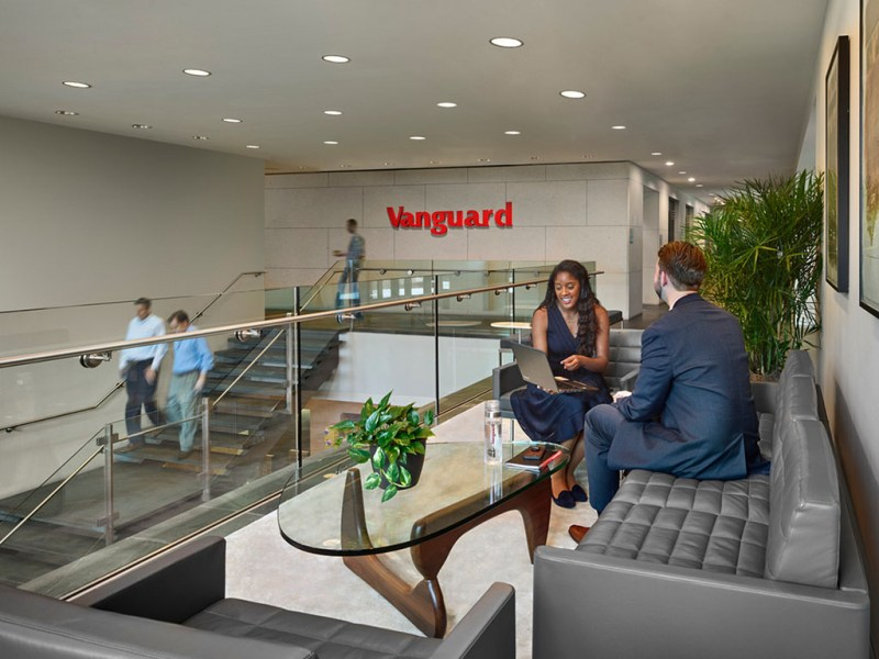 A comprehensive research university and experiential learning leader     Interior shot of Vanguard business offices