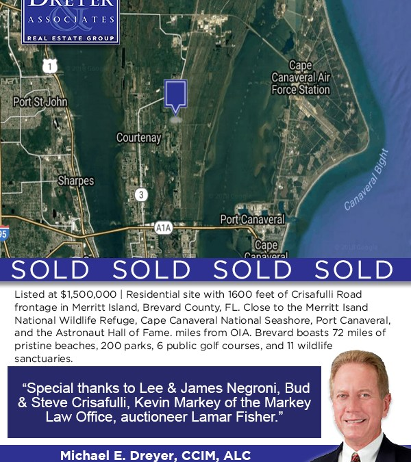 Another Commercial Property SOLD by Michael Dreyer